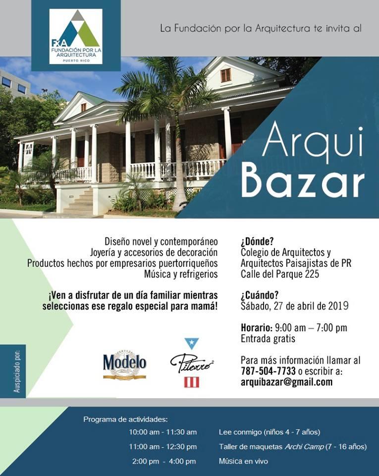 Imagen de promo del evento Arqui - Bazar