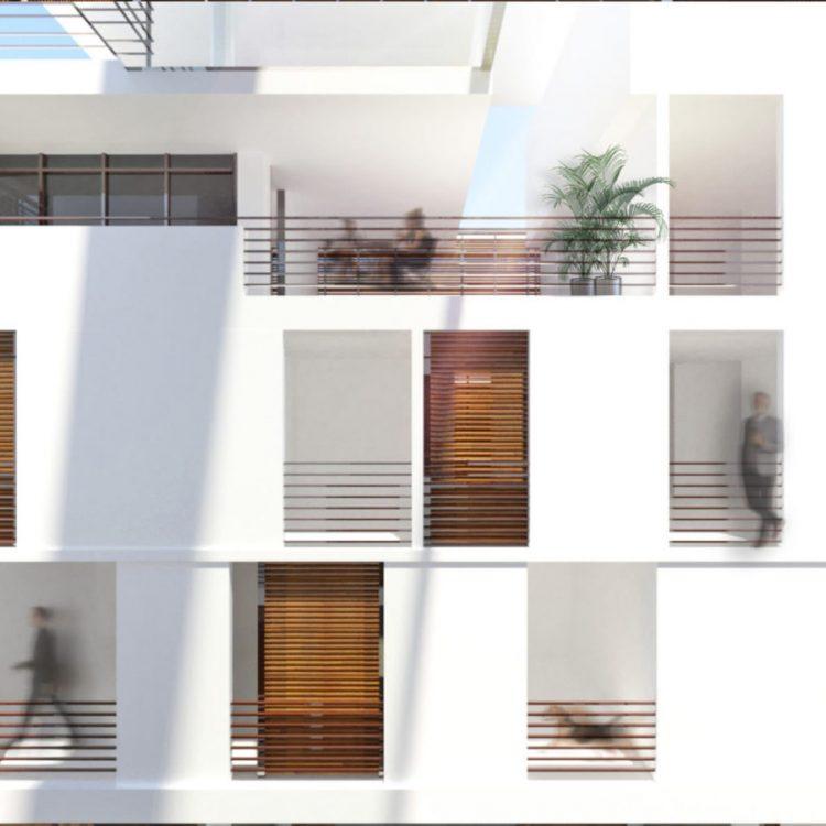 Representación en tres dimensiones realizada por Giovanni Caraballo Borrero y John Rivera