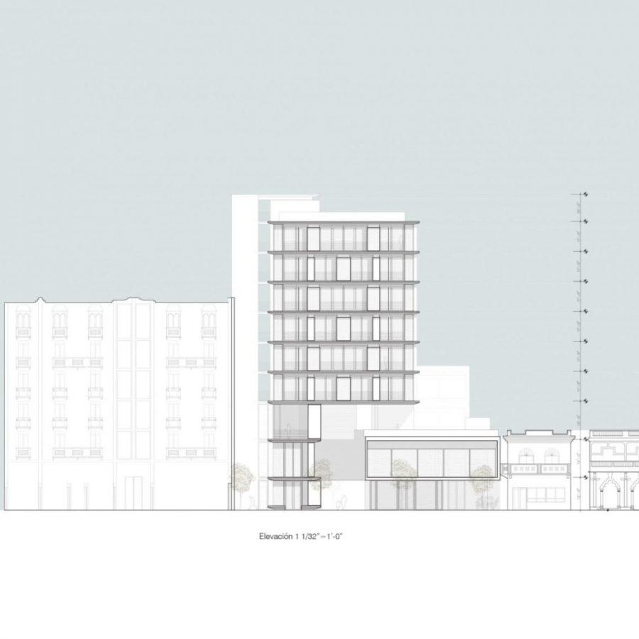 Propuesta Arquitectónica realizada por Fernando Irizarry para el curso ARQU-6311