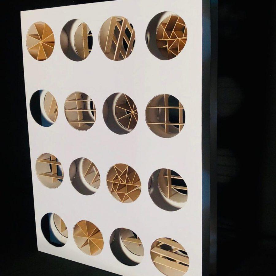 Maqueta realizada por Andrea Fleites para el curso ARQU-3131