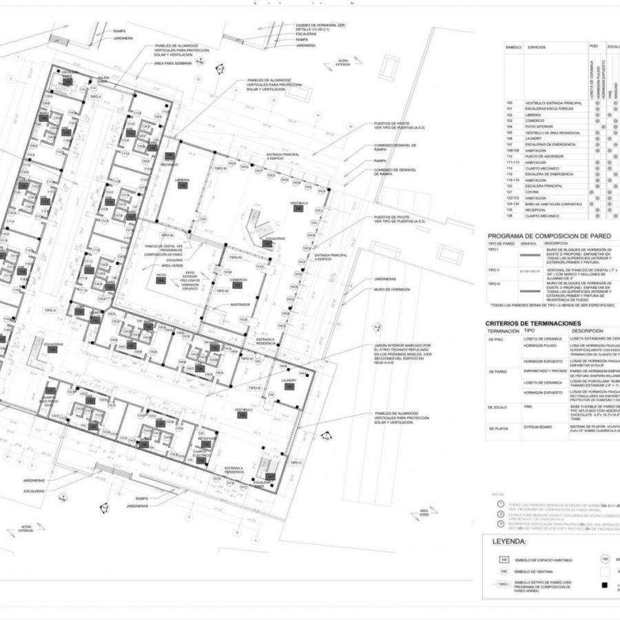 Documentos de Construcción realizados por Genesis Vega Torres