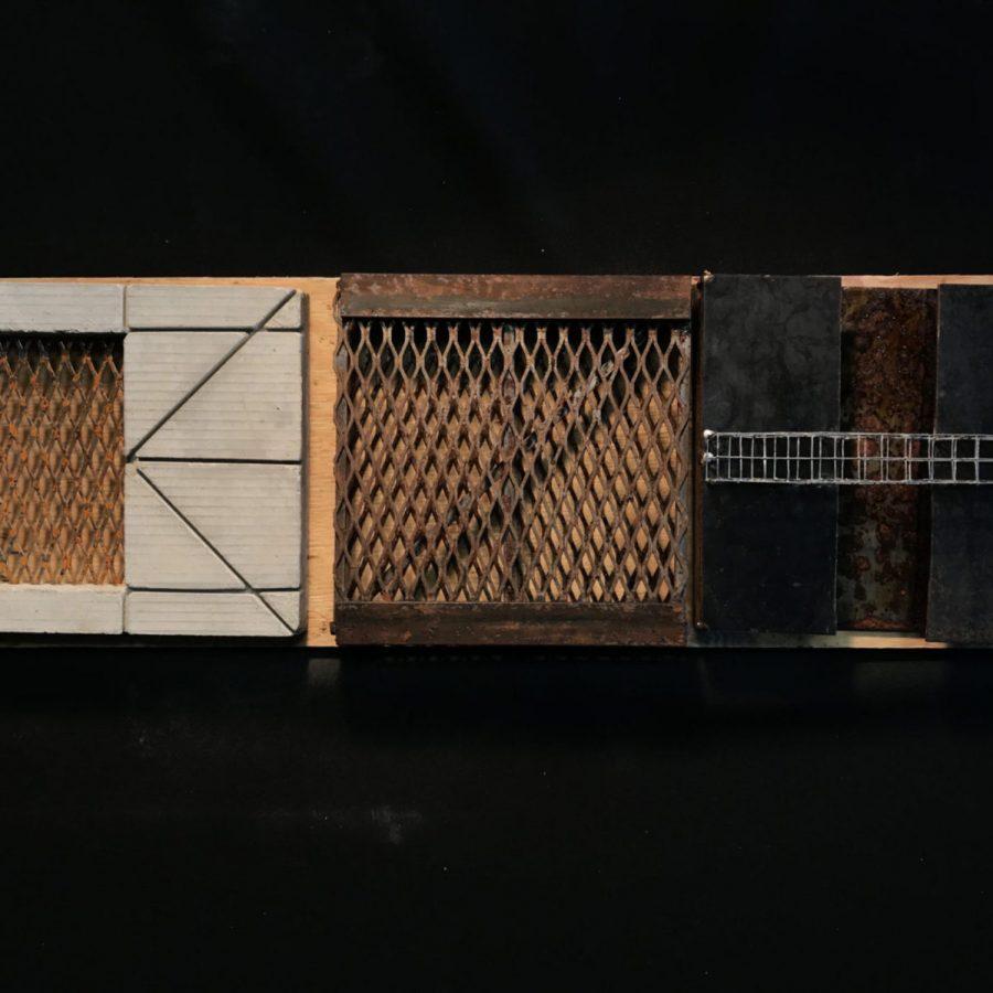 Maqueta realizada por Verónica Acevedo para el curso ARQU-3132